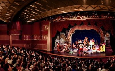 Disney Wonder theater