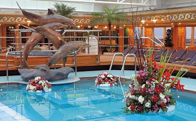 Holland America Westerdam pool deck