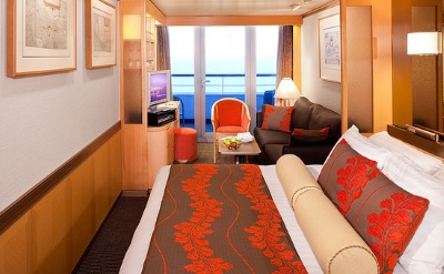 Holland America cruise stateroom
