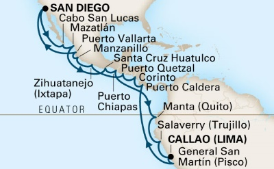 cruise to South America