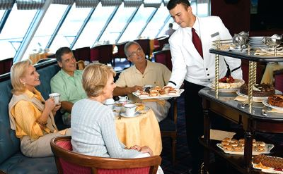 Oceania cruise dining